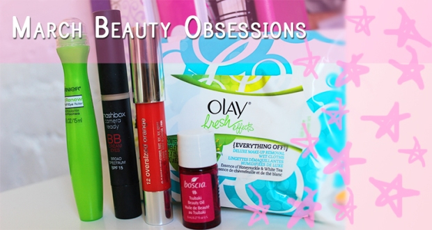 March Beauty Obsessions Feature